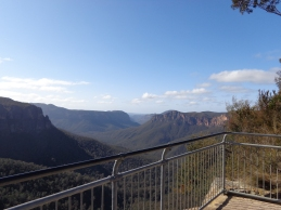 Escape to the Blue Mountains.